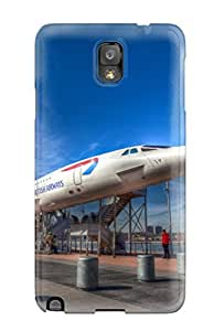 Awesome Case Cover/galaxy Note 3 Defender Case Cover(british Airways Concorde)
