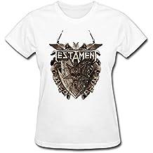 RZF Women's TestAmenT Band Logo T-Shirt-L White