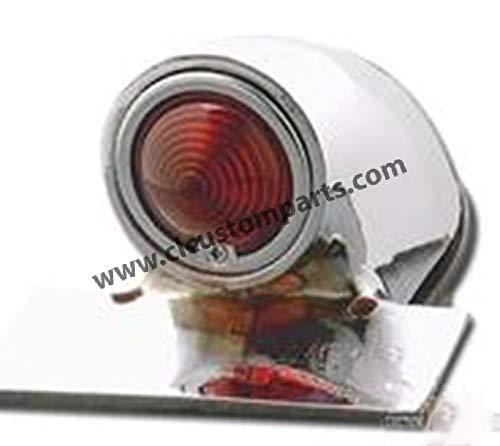 Faro posteriore Sparto cromato - luce LED per Harley Davidson Custom Chrome