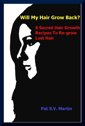 Hair Loss:: Will My Hair Grow Back? 6 Sacred Hair Growth Recipes, Re-grow Lost Hair, Stop Shedding
