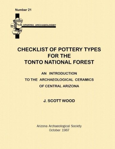 Checklist of Pottery Types for the Tonto National Forest: Arizona Archaeologist No. 21