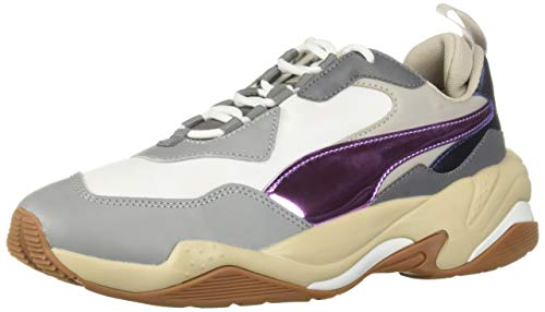 - PUMA Women's Thunder Shoe, Puma White-Pink Lavender-Cement, 8 M US