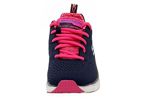 Statement Piece Pink Fit Navy Womens Fashion Hot Sneakers 9 Skechers TFRZqCnwq