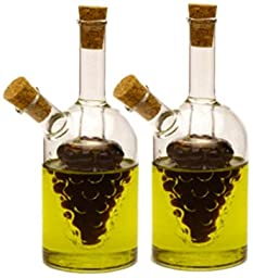Norpro 792 Oil and Vinegar Cruets, 2-Piece
