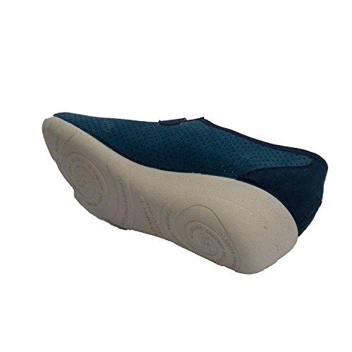 sport femme type de chaussures ajourées Doctor Cutillas en bleu marine
