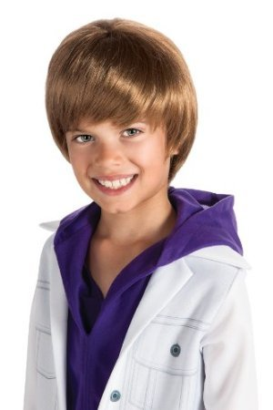 [Bieber Fever Wig Costume Accessory] (Kids Bieber Fever Wig)