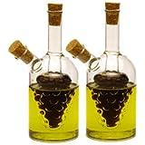 Norpro Oil and Vinegar Cruets, 2-Piece