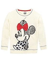 Disney Minnie Mouse Girls Minnie Mouse Sweatshirt