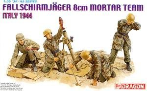 KNL HOBBY AMZ 1/35 scale Dragon 6215 German Paratroopers 8cm mortar launch group Italy ()