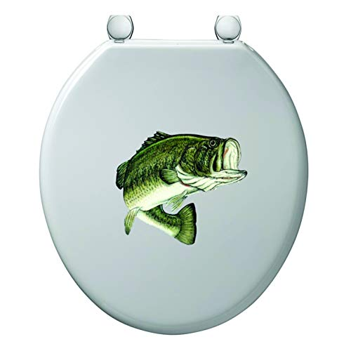 - Epic Designs Bathroom Toilet Sticker Decal Bass Fish 2 Jumping Wall Decal Sayings and Letters