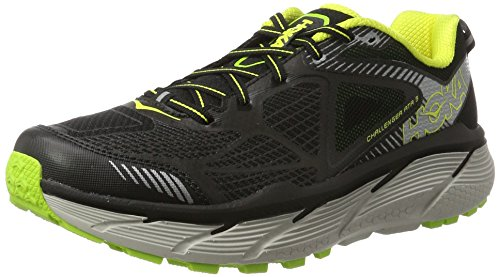 HOKA ONE ONE Challenger ATR 3 Running Shoes - Black/Citrus - Mens - 11.5