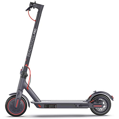 "Macwheel MX PRO Electric Scooter, Up to 25miles Long Range, Powerful 350W Motor, Max Speed 15.5mph, 8.5"" Airless Tires Electric Scooters for Commute and Travel"
