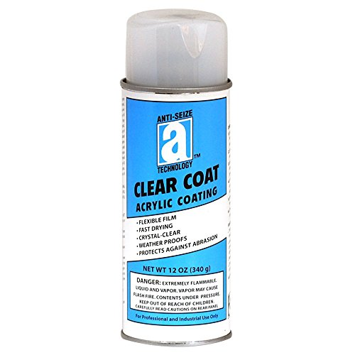 ANTI-SEIZE TECHNOLOGY 17042 Clear Coat (Coat Protectant)