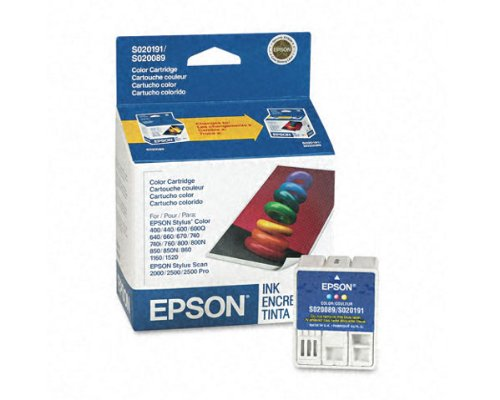 Epson Stylus Color 670 OEM Color Ink Cartridge - 300 Pages