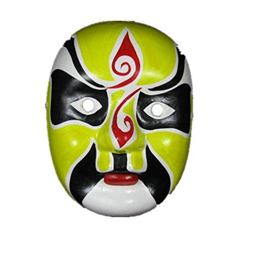 Chinese Opera Mask (Peking Opera Mask /Chinese Mask /Halloween Mask,18-style)