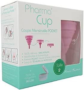 French Tendance PharmaCup - Copa menstrual plegable con ...