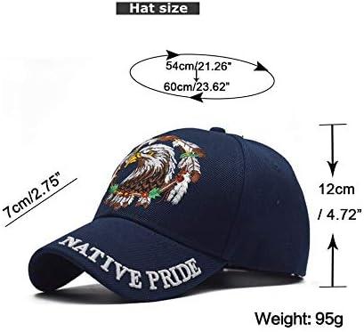 XUGFARG Sombrero Otoño Invierno Cool Eagle Gorra de béisbol Eagle ...