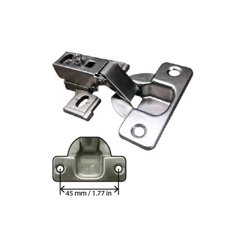 good Concealed Cabinet Hinge, 1/2 inch Overlay, self-closing
