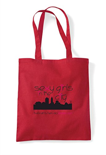Orange Bag In Party Personalised Do Girls City Parody Sexy Hen Customised Tote The Shopper wPanfOaqI