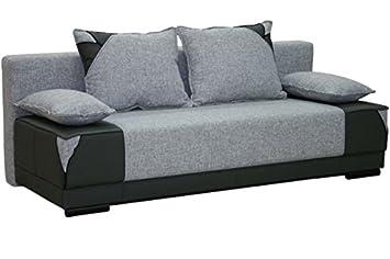 EVITA Moderno cómodo de la Tela sofá Cama sofá con Zona de ...
