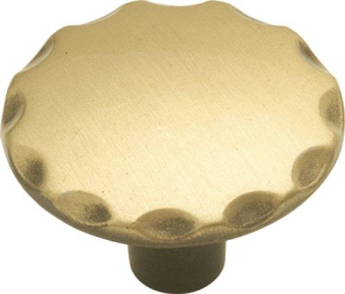 Hickory Hardware P146-AB 1-1/8-Inch Cavalier Cabinet Knob, Antique Brass