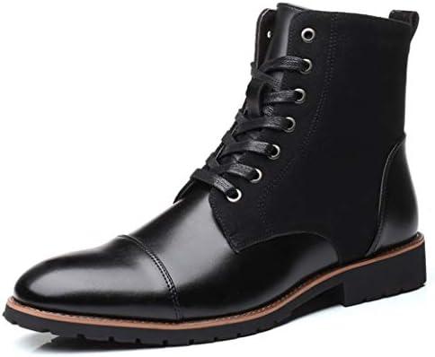 ショートブーツ メンズ ラウンドトゥ 革靴 ハイキングブーツ皮靴 紳士靴 フォーマル 冠婚葬祭 ビジネスシューズ レースアップ 靴 秋冬 マーティンブーツ マーティンブーツワークブーツ レインブーツ
