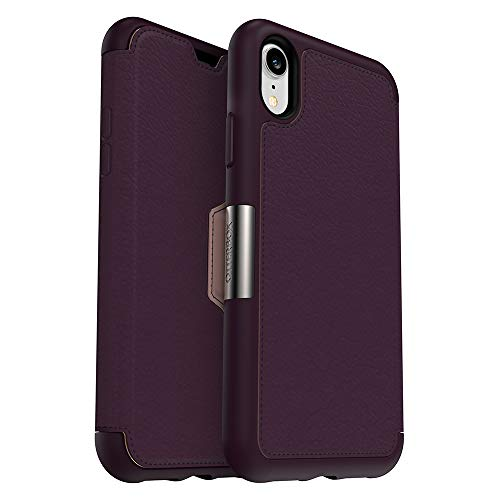 OtterBox Strada Series Case for iPhone XR - Retail Packaging - Royal Blush (Winter Bloom/Cameo Rose) (Best Blush For Winter)