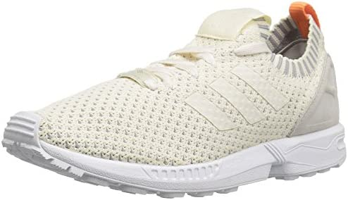 adidas Originals Women s ZX Flux PK W Running Shoe, Chalk White Chalk White Granite, 8 M US