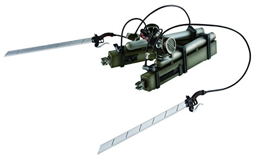 Banpresto Attack on Titan Vertical Maneuvering Equipment Master Stars Piece Version (Attack On Titan Odm Gear Real Life)