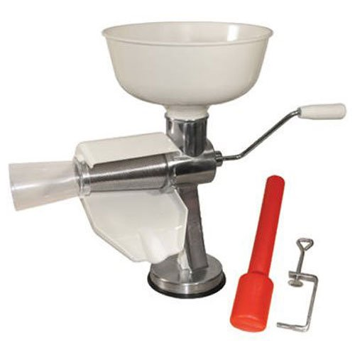 Weston Food Strainer and Sauce Maker for Tomato, Fresh Fruits and Vegetables (07-0801) (Salsa Seeds Tomato)