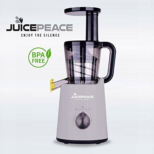 Extractor de zumo a frío juicepeace Color Silencioso, compacto ...