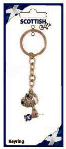 人気ブランドを Deluxe Studded Studded Keyring Dog Keyring B007OBKZHG, お酒のSPANA:dabdd8c1 --- yelica.com