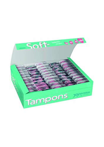 Joy Division Soft Tampons - hygienic and Skin-friendly - suitable for use in saunas and when swimming - comfortable and pleasant to wear (Mini, Box of - Online Swimming Products