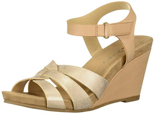 CL by Chinese Laundry Women's Truest Sandal, Blush/Dk Nude, 6.5 M US ()