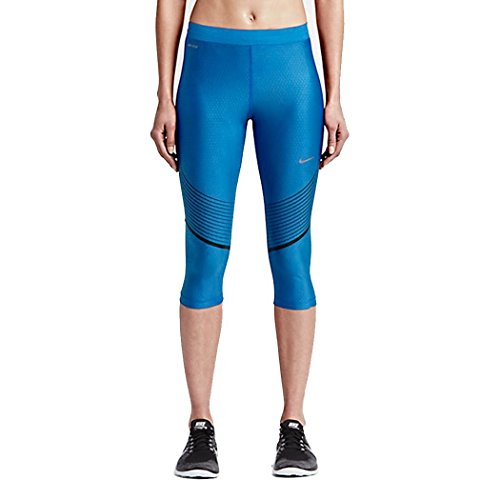 Nike Womens Striped Dri Fit Capri