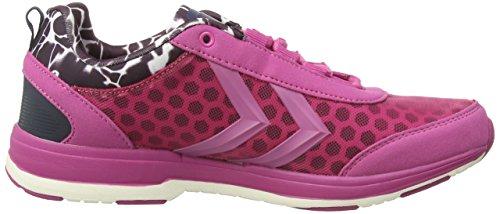 Hummel HUMMEL TRAINSTAR - Zapatillas deportivas para interior de material sintético mujer rosa - Pink (Rose Violet 3502)
