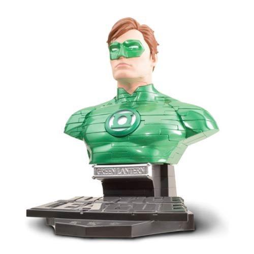 Justice Puzzle (Justice League Green Lantern Hal Jordan Bust 3-D Puzzle)