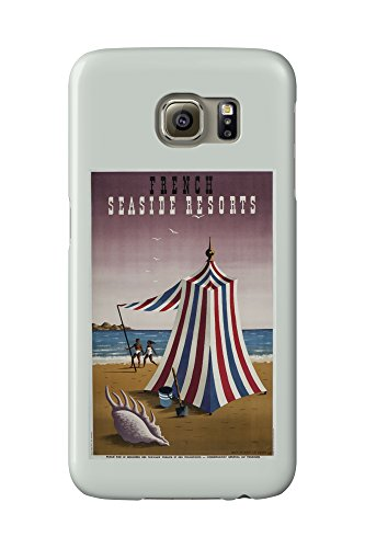french-seaside-resorts-vintage-poster-artist-picart-le-doux-france-c-1947-galaxy-s6-cell-phone-case-
