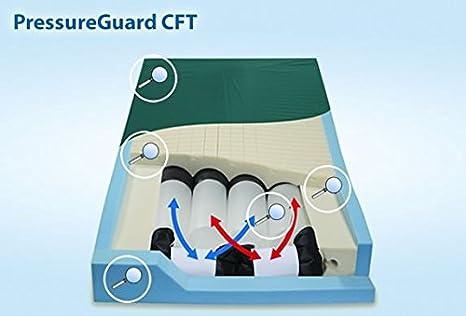"""pressureguard CFT colchón – 80 """"X 54 W (para personas con sobrepeso)"""