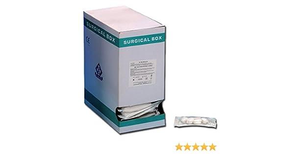 Gima 35045 estéril algodón Toallitas de diámetro 30 mm (paquete de ...