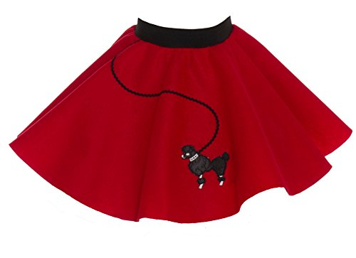 Hip Hop 50s Shop Baby and Toddler Poodle Skirt (Toddler, -