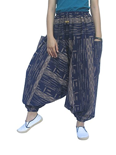 Maternity Yoga Baggy One Size Rose Hippie Pants PLUS Ladies Baggy Rose Pants