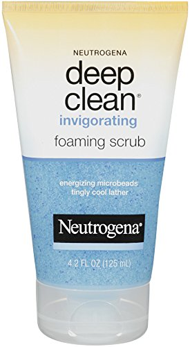 Neutrogena Deep Clean Tonique Gommage Moussant, 4,2 once (Pack de 3)