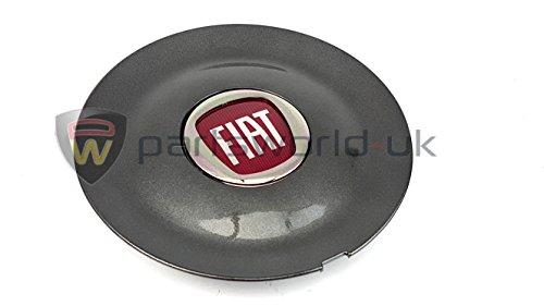 Genuine Fiat Bravo Sport Anthracite Alloy Wheel Centre Cap 735452756