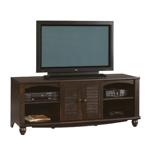 Sauder Harbor View Entertainment Credenza, Antiqued Paint (Harbor View Tv Stand)