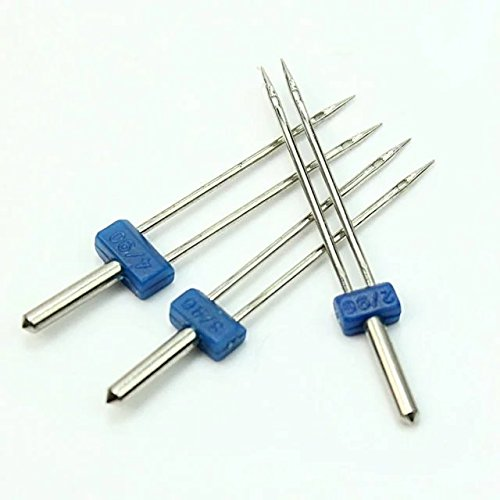 Discover Bargain Best Fit For U 3pc Durable Double Twin Needles Pins Sewing Machine Accessories New
