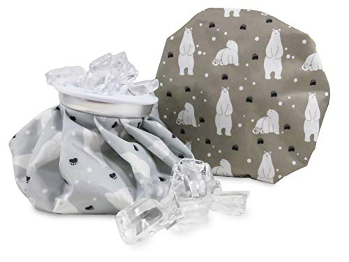 (Polar Bear Ice Bags 6 Inch Reusable Hot Cold Therapy (2 Piece Set))