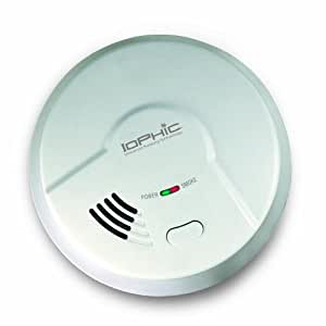 USI Electric MDS107 Hardwired 2-in-1 Universal Smoke Sensing (IoPhic) Smoke and Fire Alarm with Battery Backup