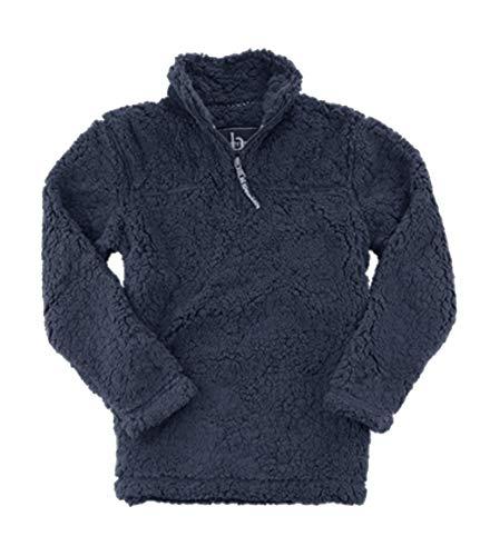 Boxercraft Adult Quarter Zip Sherpa Pullover-navy-xl by Boxercraft Adult Quarter Zip Sherpa Pullover-black-large