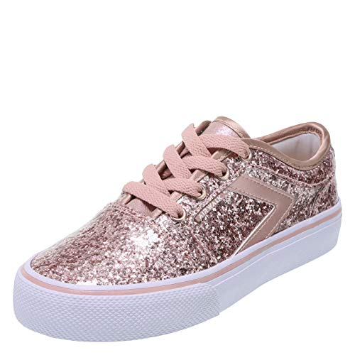 Airwalk Pink Glitter Kid's Rieder Pro Sneaker 13 Regular -